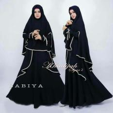 Promo Suki Maxi Dress Gamis Sabiy Syari I Black Dki Jakarta