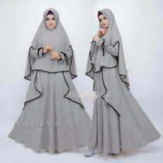 Beli Suki Maxi Dress Gamis Sabiy Syari I Grey Pake Kartu Kredit