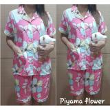 Beli Suki Piyama Baju Tidur Wanita Flower Baru