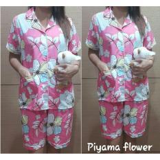 Diskon Suki Piyama Baju Tidur Wanita Flower Branded