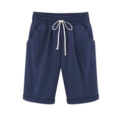 Summer casual pants female pants pants thin section wear pants large size women fat mm loose loose