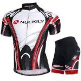Spesifikasi Pakaian Jersey Bersepeda Musim Panas Set Olahraga Lengan Bang Pendek To Pria Putih Hitam Intl Merk Not Specified