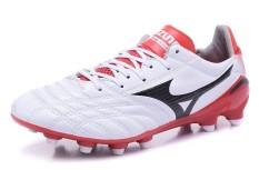 Summer Football Shoes For Men's Mizuno Morelia FG Soccer Sneakers Size 39-45 (White/Black)