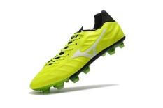 Sepatu Sepak Bola Musim Panas untuk Pria MIZUNO MORELIA NEO Mix FG Rebula V1 FG Soccer Sneakers Ukuran 39-45 (hijau/Putih) -Intl