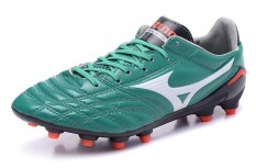 Summer Football Shoes For Men's Mizuno Morelia Neo Mix FG Soccer Sneakers Size 39-45 (Green)