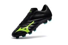 Sepatu Sepak Bola Musim Panas untuk Pria MIZUNO MORELIA Rebula V1 Dibuat Di Jepang MD Soccer Sneakers Ukuran 39-45 (hitam/Hijau) -Intl