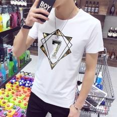 Summer Korean version of the Department of men's T-shirt, men's short sleeved shirt, shirt sleeve, T-shirt, men's clothing, T-shirt trend