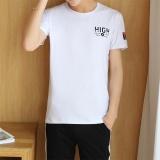 Harga Summer Korea Versi Departemen T Shirt Pria Pria Kemeja Lengan Pendek Lengan Baju T Shirt Pemakaian Lelaki T Shirt Tren Intl Baru