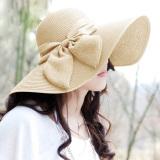 Jual Wanita Musim Panas Matahari Topi Pantai Dan Topi Jerami Lebar Pinggir Boheimia Baru