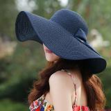 Toko Wanita Musim Panas Matahari Topi Pantai Dan Topi Jerami Lebar Pinggir Boheimia Busur Intl Terlengkap