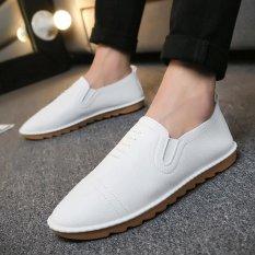 Toko Kasual Sepatu Nyaman Kulit Sepatu Anak Putih Intl Lengkap Di Tiongkok