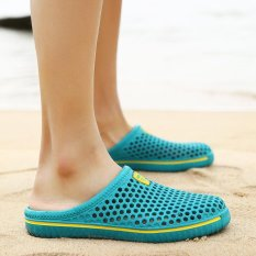 Summer Shoes Mules and Clogs Garden Shoes for Men Breathable Beach Sandals Slipper Men/Women (Blue)