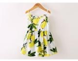Musim Panas Sling Dicetak Cute G*rl Dress Intl Murah