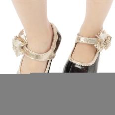 Spesifikasi A Musim Panas Gadis Eropa Edisi Princess Tari Sepatu Kulit Flat Sandal High Heel Intl Merk Oem