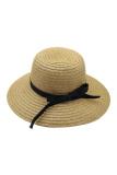 Harga Summer Wide Brim Floppy Straw Beach Bohemia Cap Khaki Oem Asli