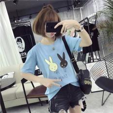 Pusat Jual Beli Musim Panas Wanita Kelinci Cetak Tee T Shirt Casual Shirt Intl Tiongkok