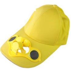 Sun Hat With Solar Power Fan Topi Dengan Kipas Angin Tenaga Matahari - Hot Items