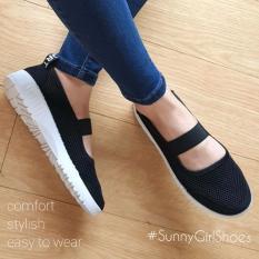 Toko Sunny Girls Ola Sepatu Sneakers Wanita 3355 Black Dekat Sini