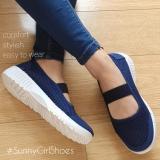 Harga Termurah Sunny Girls Ola Sepatu Sneakers Wanita 3355 Navy Blue