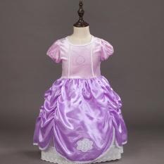 Jual Sunshop Korea Snow Ice Odd Dress Perdagangan Luar Negeri Anak Pakaian Kecil Putri Saat Sofia Perempuan Intl Online Di Tiongkok