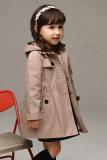 Beli Sunweb Europea Gaya Gadis Musim Dingin Musim Gugur Angin Mantel Jaket Berkerudung Sederhana Peplum Dril Khaki Cicil