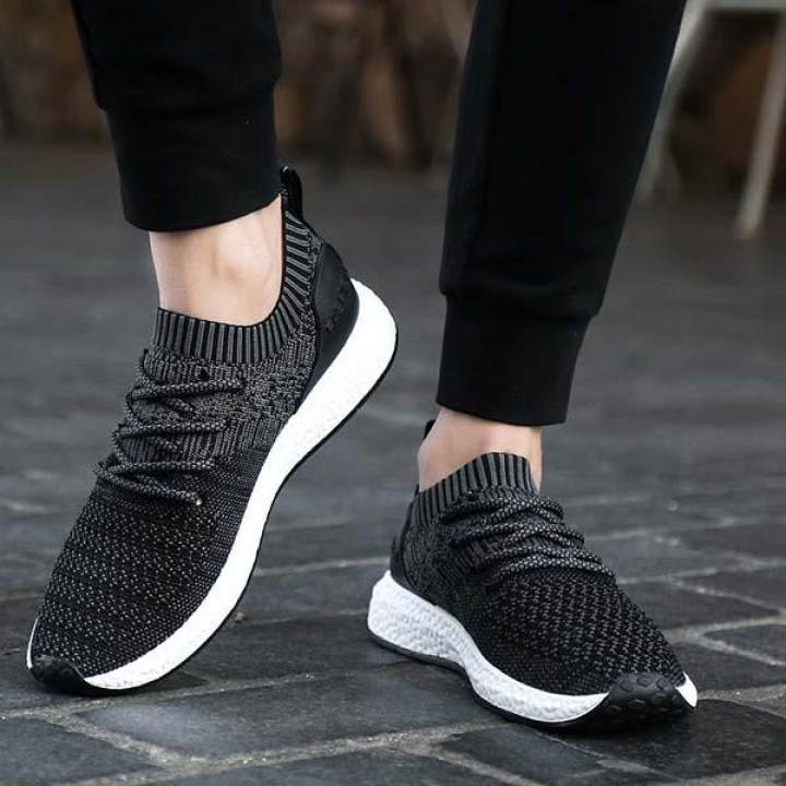 harga Super Bernapas Fashion Sneakers Pria Sepatu Olahraga Kasual Lembut Sepatu lari tahan lama Sepatu Jala Men's Fashion Sneakers Soft Casual Sports Shoes Durable Running Shoes Mesh Shoes Lazada.co.id