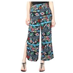 Harga Super Light Chiffon Lady Fashion Pinggang Tinggi Long Cool Pant Warna Pic Intl Termurah