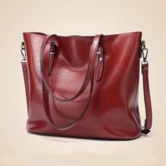 Spesifikasi Super Tas Kualitas Premium Series Baru Terbaik Wanita Tote Bags Buckle Bucket Dll Shoulder Bag Handbag Kerja Bag Tote Big Bag Lady Bag Clutch Bag Merah Intl Murah Berkualitas