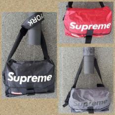 Spesifikasi Super Promo Murah Tas Selempang Messenger Bag Supreme Premium Quality 7Msyir Yang Bagus