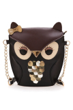 Promo Supercart Owl Bentuk Casual Bag Brown Oem