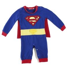 Spesifikasi Superman Baju Kostum Super Hero Kostum Terusan Bandung Photo Bayi Balita Anak Hadiah Baju Monyet Murah Berkualitas