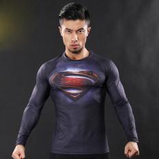 3D T Shirt CrossFit Tops Kemeja (JST-20) -Intl .