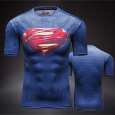 Jual Mixjoy Kaus Oblong Pria Lengan Pendek Superman Cepat Kering Bersirkulasi Udara Baru Merah Superman Baru Merah Superman Murah Tiongkok