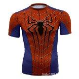 Jual Beli Superman T Shirt Tights Pria Superhero Film Kapten Amerika Motion Lengan Pendek Intl Tiongkok