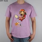Review Superstar Nadal Q Versi Ya Logo Mens T Shirt Cotton Fashion Brand T Shirt Pria Baru Pria Tee Ungu Intl Oem