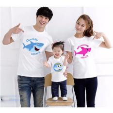 Supplier Baju Couple Keluarga Murah - Kaos Family Kapel Online - Pasangan (Coupel / Capel / Copel) Baby Shark