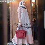 Spesifikasi Supplier Baju Wanita Grosir Baju Murah Felisha Dress Gamis