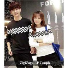 Supplier Couple Online - Kaos Pasangan Trendy - Baju Couple ZigiZaga LP