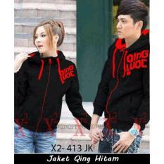 Jual Supplier Jaket Couple Jaket Couple Online Jaket Couple Qing Hitam Import