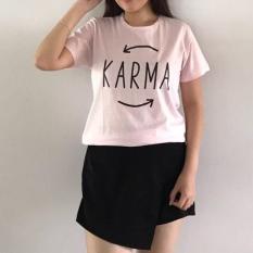 Supplier Tshirt / Kaos warna murah/ Fashion atasan wanita KARMA PINK