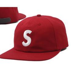 Jual Supreme Dat Hat S Logo Red Maroon Di Bawah Harga