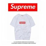 Harga Supreme Vlone Pria Lengan Pendek T Shirt Lengan Pendek Kemeja Beberapa All Pertandingan Seken