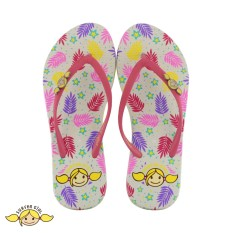 Surfer Girl - Sandal Japit Flip Flop Surfer Girl Limited Edition SG 176 [Putih]