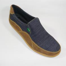 Beli Surround Sepatu Casual Pria M2 Nw 02 Tan Biru Kredit