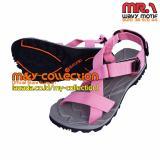 Jual Suzuran Sandal Gunung Cross Mr1 Grey W Pink Original