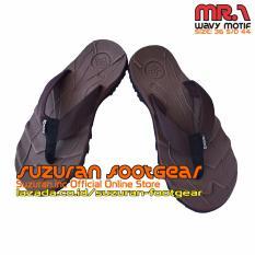 Beli Suzuran Sandal Gunung Flip Flop Mr1 Brown Cicilan