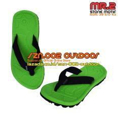 Spesifikasi Suzuran Sandal Gunung Flip Flop Mr2 Green W Black Merk Suzuran