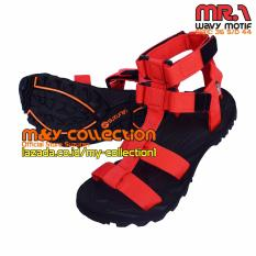 Harga Suzuran Sandal Gunung High Land Mr1 Black W Red Termurah