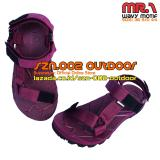 Jual Suzuran Sandal Gunung Slop Mr1 Maroon Satu Set