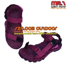 Suzuran Sandal Gunung Slop X Mr1 Maroon Suzuran Diskon 30